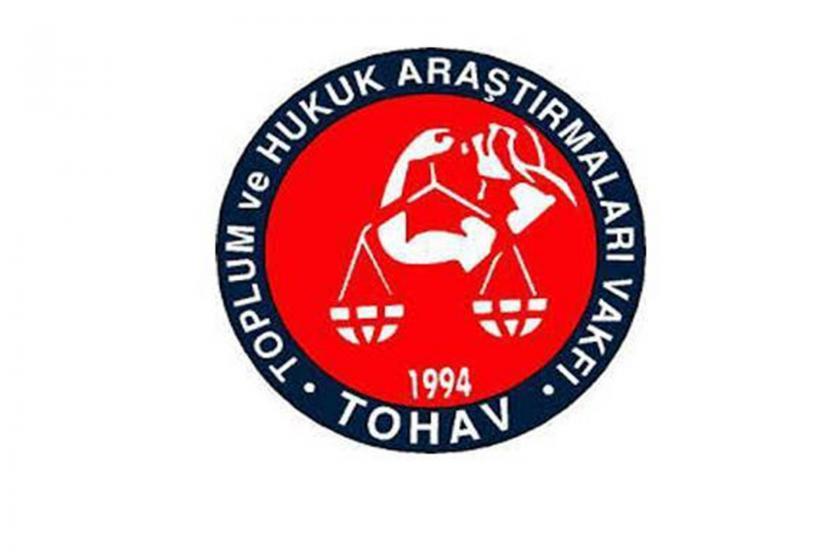 Toplum ve Hukuk Araştırmaları Vakfı (TOHAV) logosu