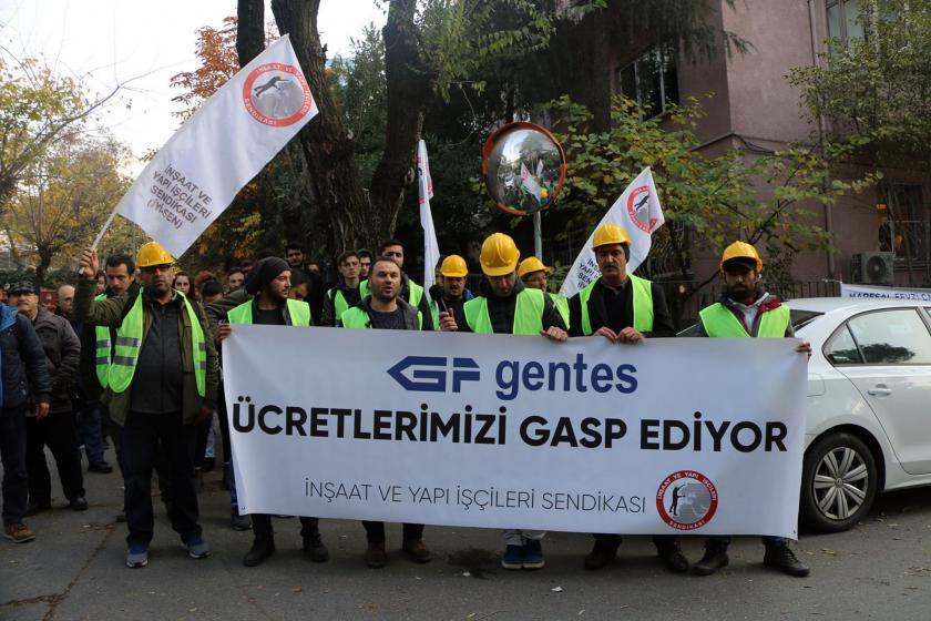 Gentes işçileri