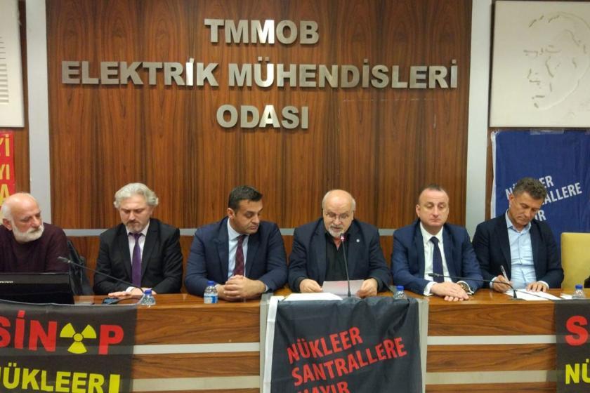 Nükleer Karşıtı Platform temsilcileri