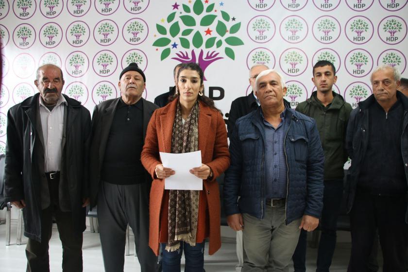 HDP İl Örgütü yönetici ve üyeleri