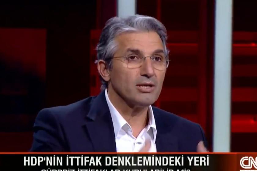 Nedim Şener CNN Türk'ün yayınında konuşuyor