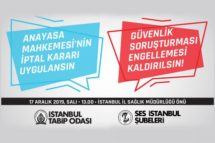 SES ve İTO'nun düzenleyeceği eylemin afişi
