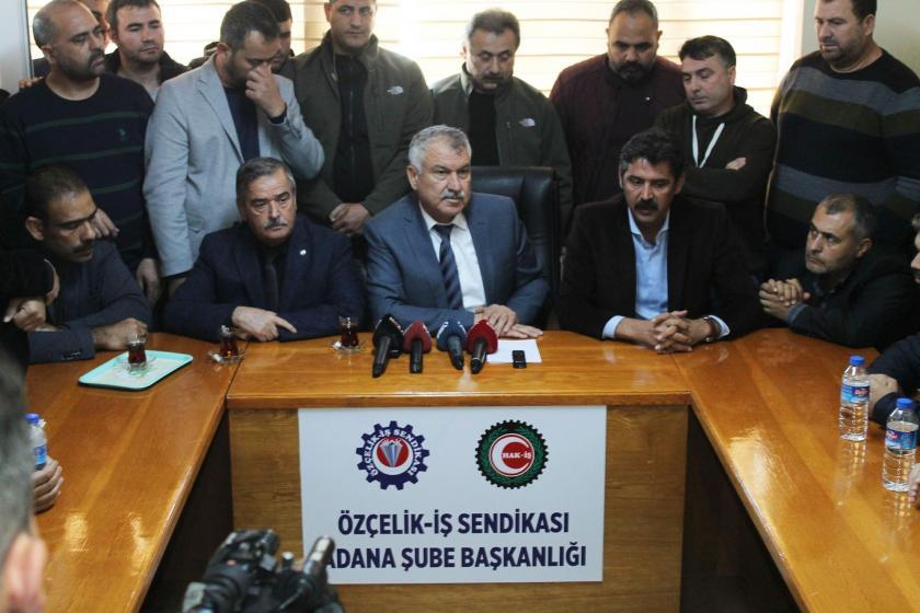 Adana Büyükşehir Belediye Başkanı Zeydan Karalar, TEMSA işçilerini ziyaret etti