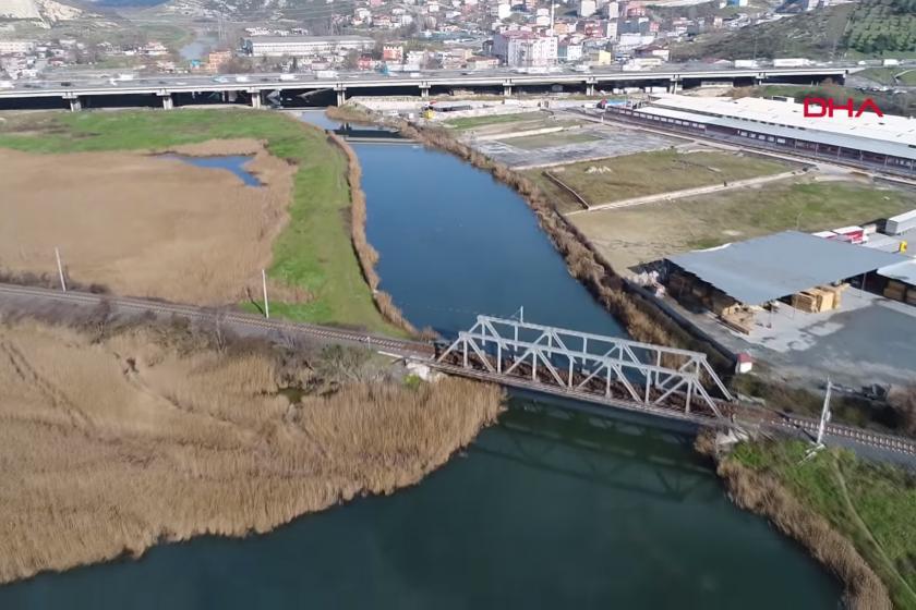 Kanal İstanbul için belirlenen güzergahın havadan çekimi