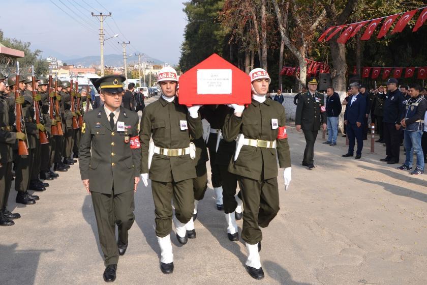 Piyade Uzman Çavuş Muharrem Karaduman'ın cenazesi.