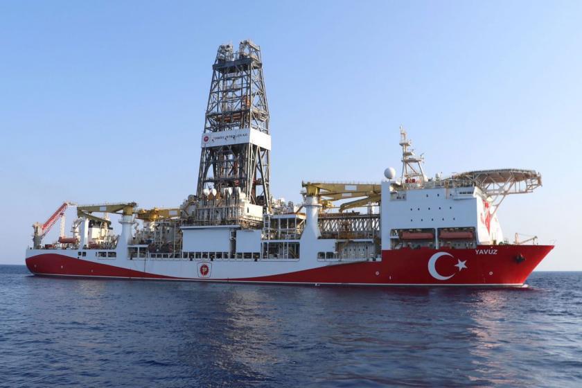Doğu Akdeniz'de Türkiye'ye ait gemi