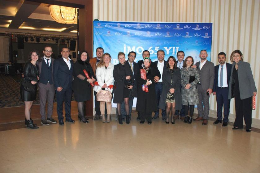 İMO Denizli Şubesi kuruluşlarının 65.yılını kutladı