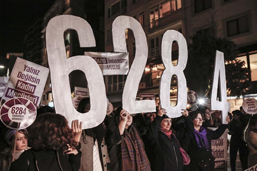 6284 rakamlarını taşıyan kadınlar