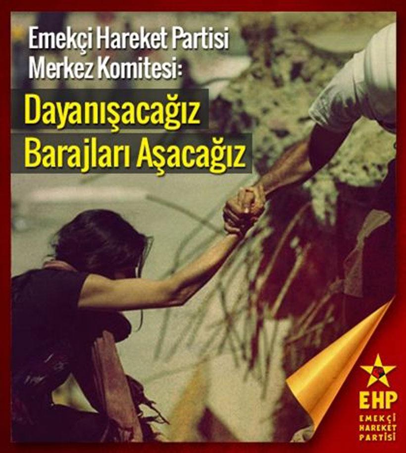 EHP, seçimlerde HDP ile dayanışma çağırısı yaptı