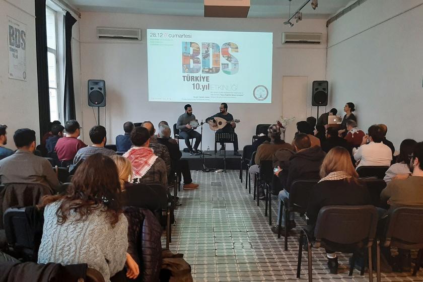 BDS Türkiye'nin 10. yıl etkinliği