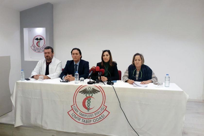 Hekime şiddete ilişkin açıklama yapan İzmir Tabip Odası