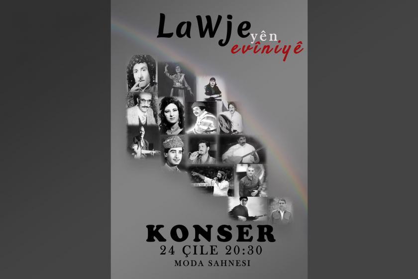 """""""LaWje'yên evîniyê"""" konserinin afişi"""