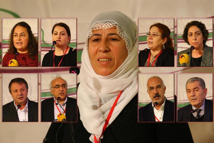HDK 10. Genel Kurulunda konuşma yapan katılımcılar