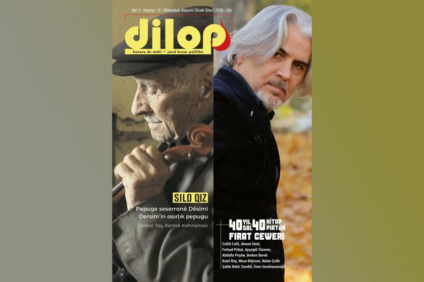 dilop'un Ocak-Şubat 2020 sayısının kapağı.