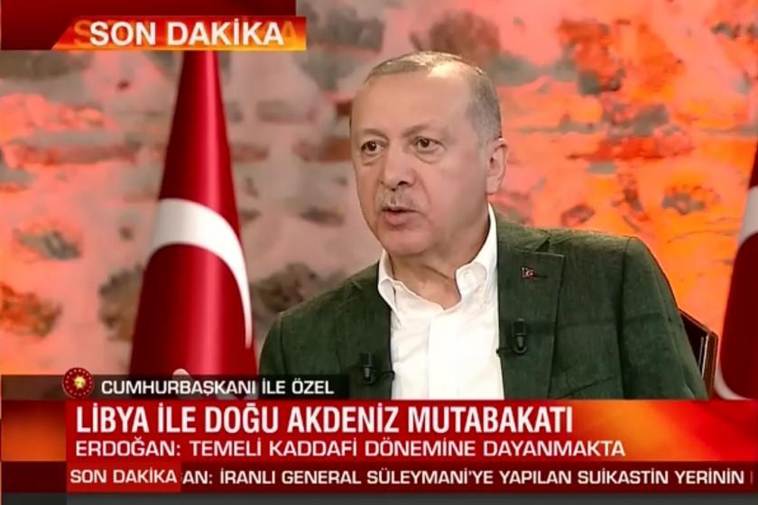 Erdoğan CNN Türk yayınında konuşuyor