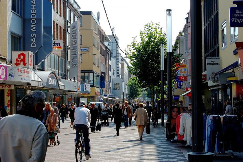 Almanya'nın Gelsenkirchen kenti