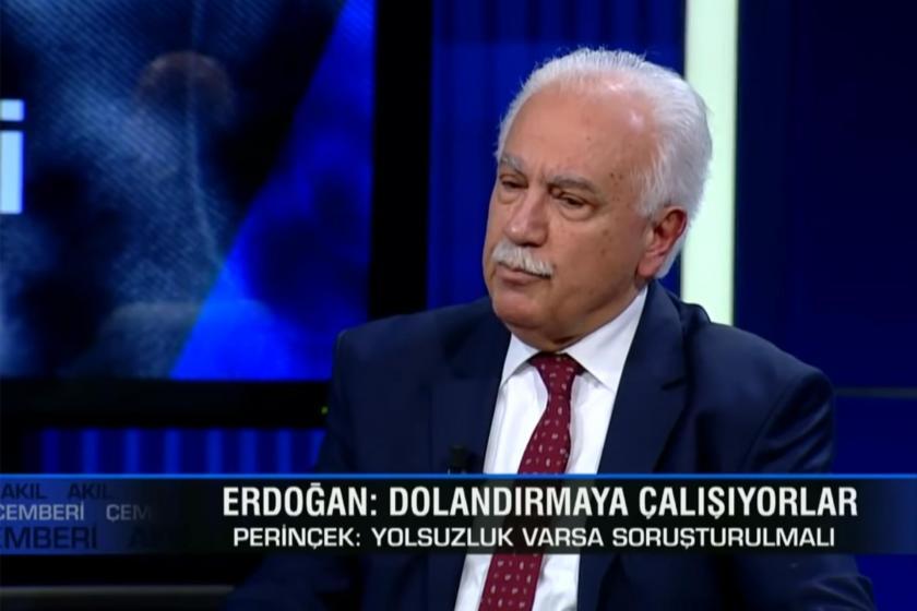 Doğu Perinçek CNN Türk'te gazetecilerin sorularını yanıtlıyor