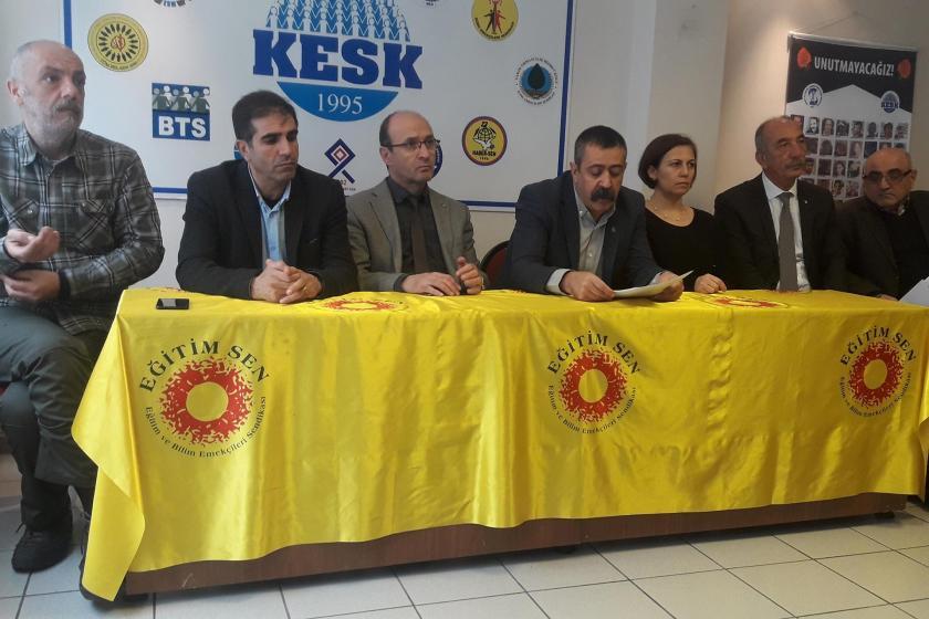 Balıkesir'de KEKS bileşenleri 11 Ocak'ta İzmir'de yapılacak mitinge çağrıda bulundu