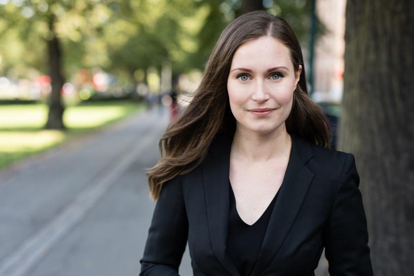 Finlandiya Başbakanı Sanna Marin.