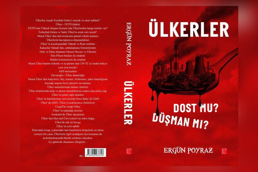 Ergün Poyraz'ın Ülkerler-Dost Mu Düşman Mı? adlı kitabının kapağı