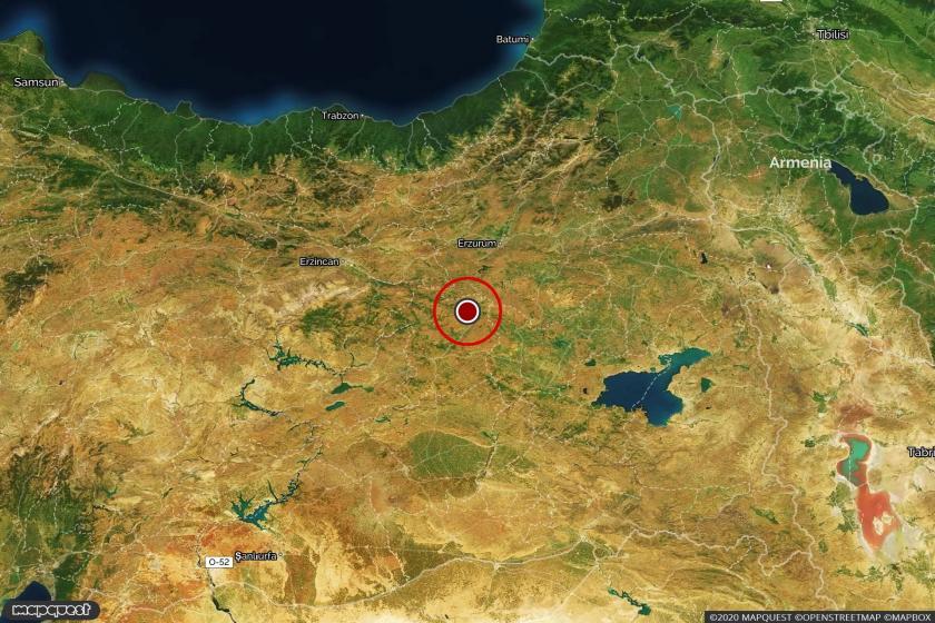 Bingöl'de depremin meydana geldiği yer
