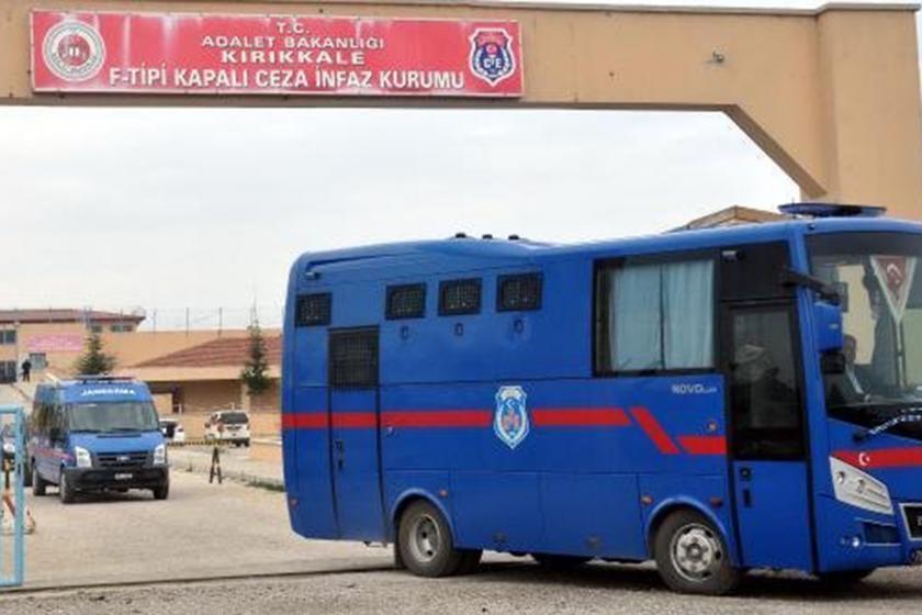 Kırıkkale Cezaevi girişi