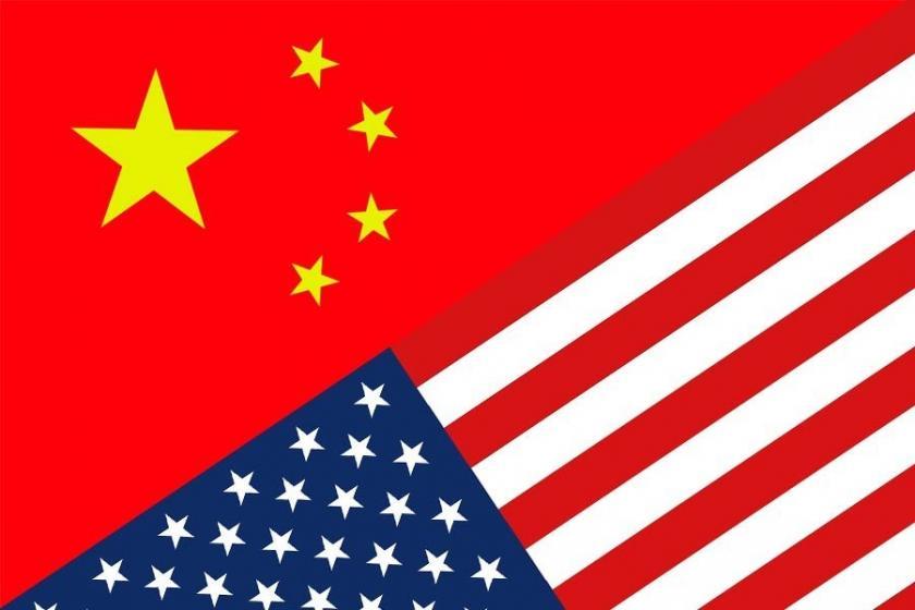 ABD ve Çin bayrağı