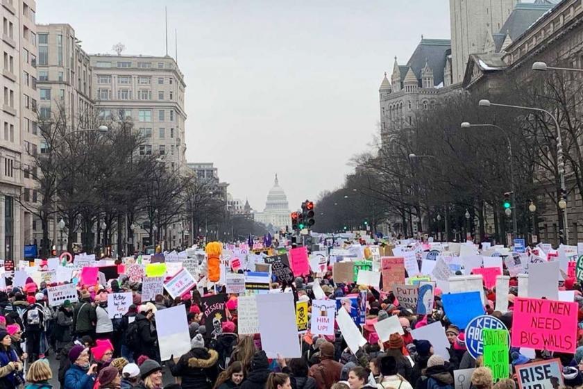 ABD'deki Trump karşıtı Kadın Yürüyüşü