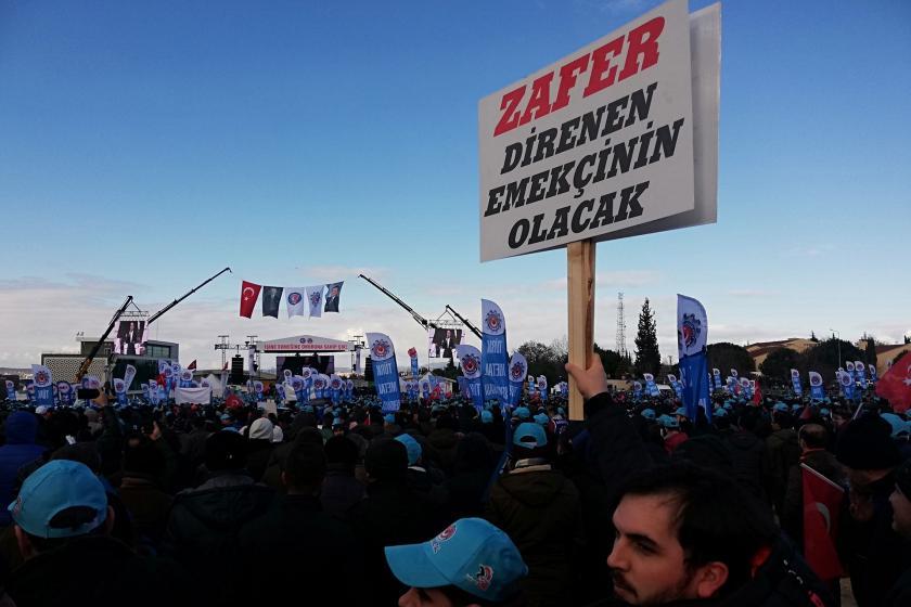 Türk Metal işçileri ve zafer direnen emekçinin olacak dövizi