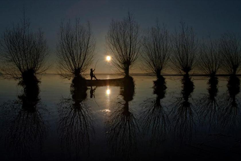 Işıklı Gölü manzarası