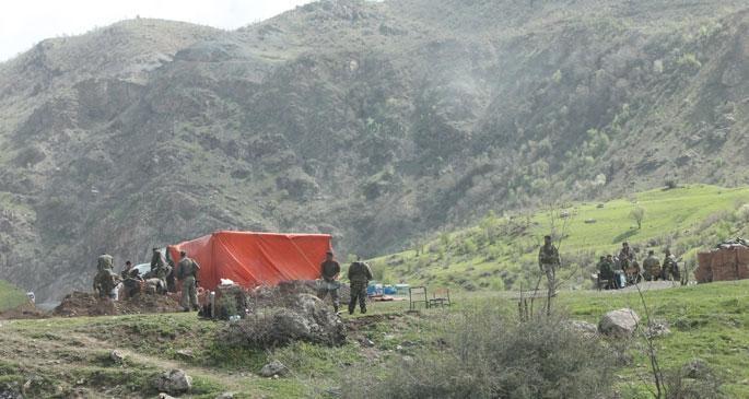 Varto'da askeri operasyon