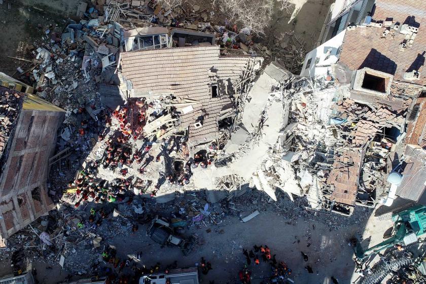 Elazığ depreminin yarattığı yıkım