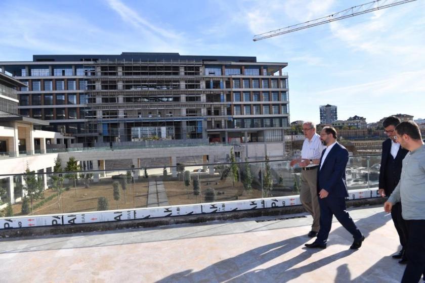 Diyanet İşleri Başkanı Ali Erbaş üniversiteyi ziyaret etmişti