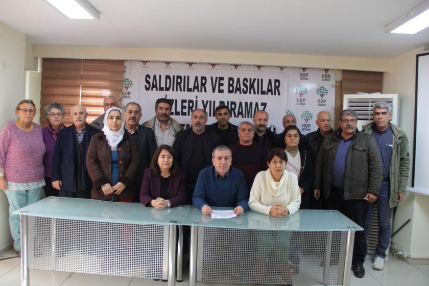 HDP İzmir İl Örgütü üyeleri