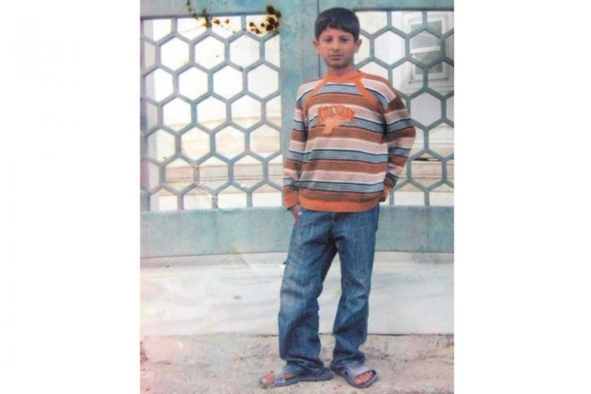 13 yaşındaki Ahmet Yıldız