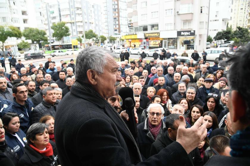 Adana Büyükşehir Belediyesi Başkanı Zeydan Karalar.