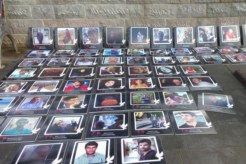 10 Ekim Katliamında hayatını kaybedenlerin fotoğrafları