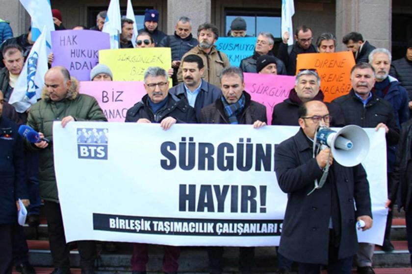 BST'nin sürgün eylemi