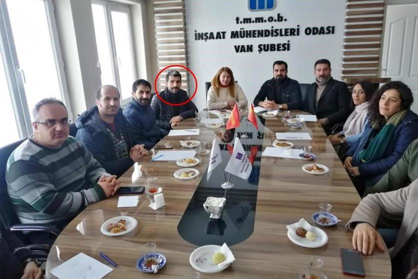 HDP PM Üyesi Yunus Durdu'nun katıldığı bir ziyaret