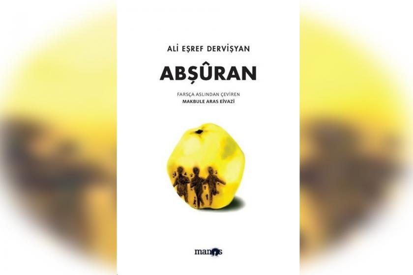 Ali Eşref Dervişyan'ınAbşûran kitabının kapak görseli