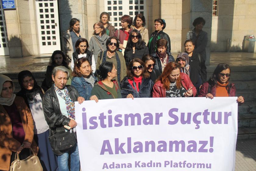 Adana Kadın Platformu basın açıklaması