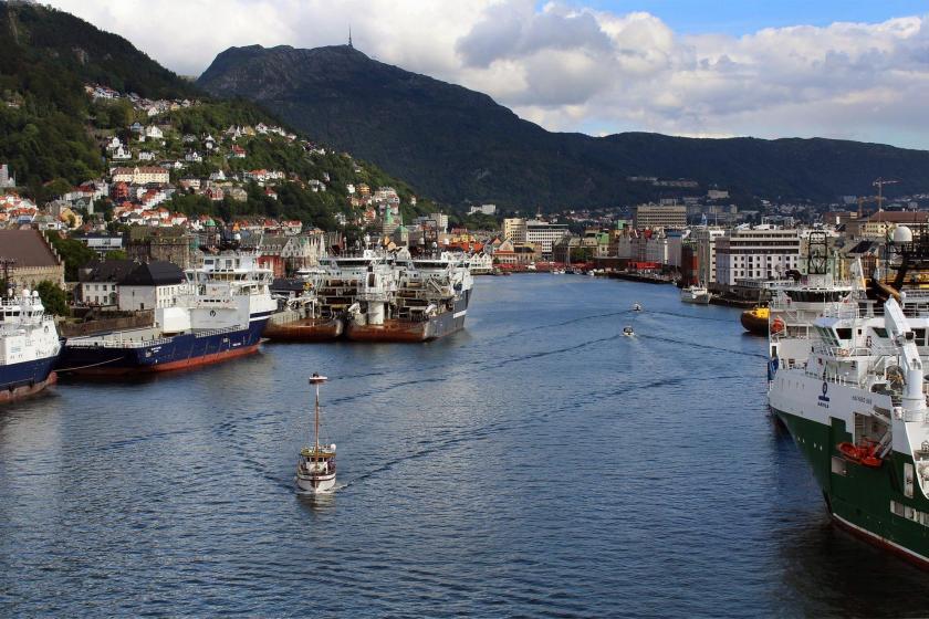 Norveç'te bir liman