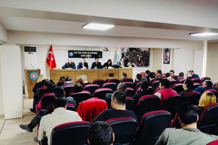 Genel-İş İzmir 2 Nolu Şube yönetim ve temsilciler toplantısı.