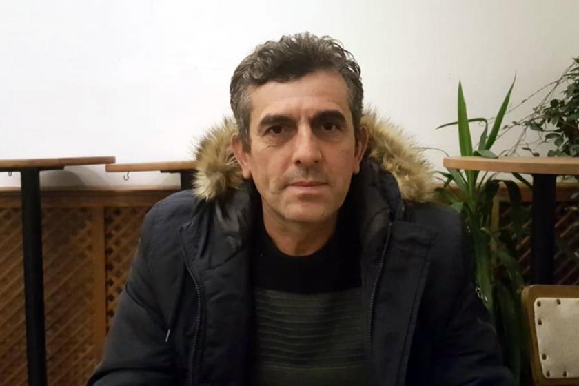 İnşaat işçisi Sedat Aydın.
