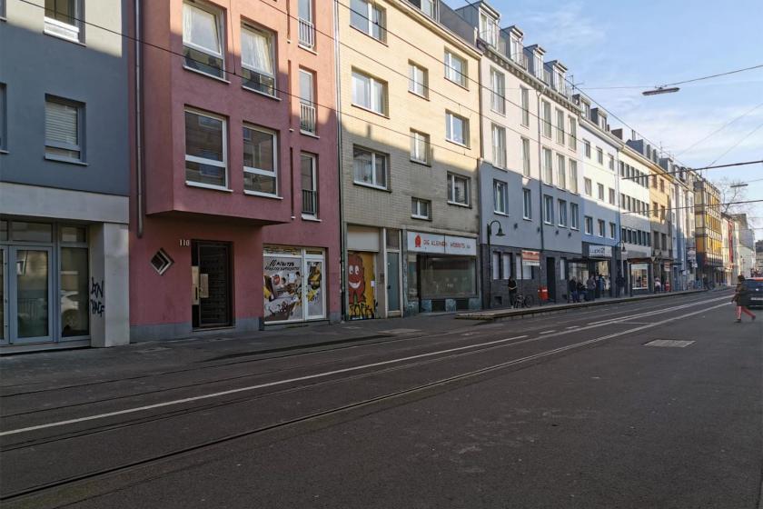 Almanya sokaklarından bir görüntü