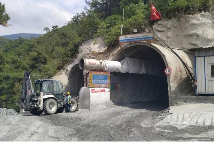 Maden girişi