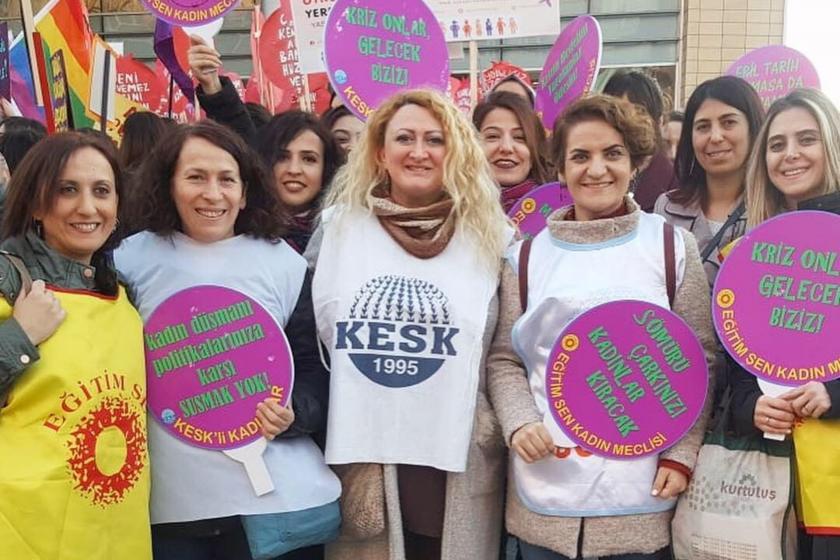 KESK'li kadınlar