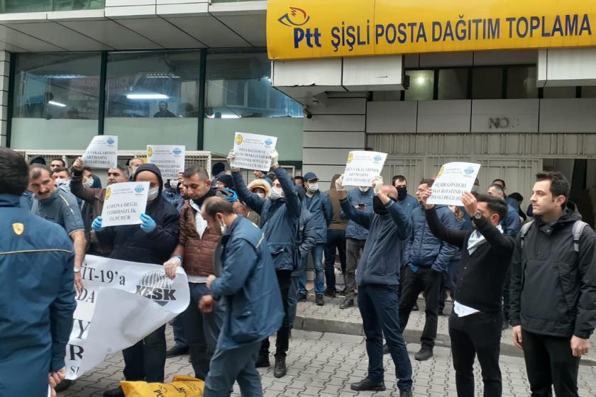 İstanbul Ptt işçileri
