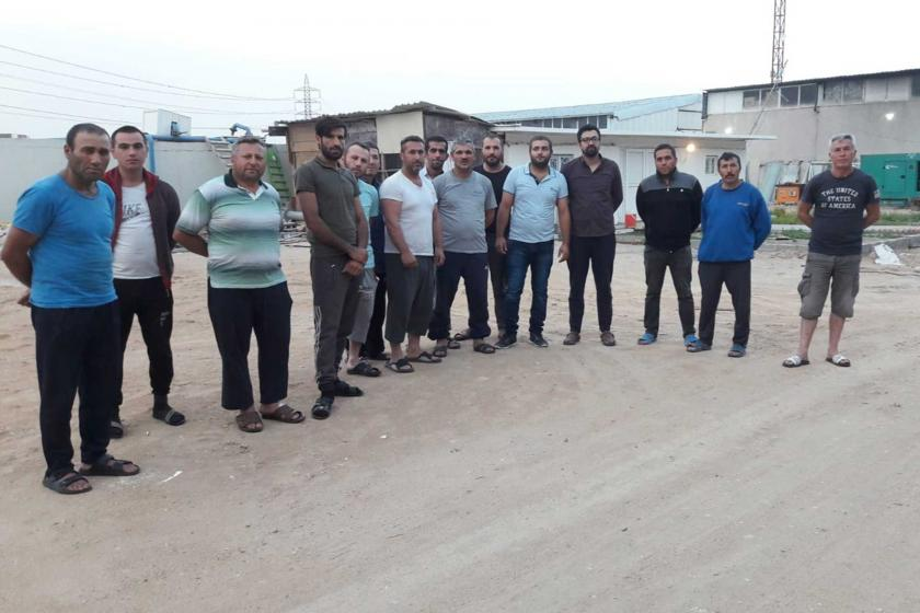 Kerbela'da mahsur kalan inşaat işçileri