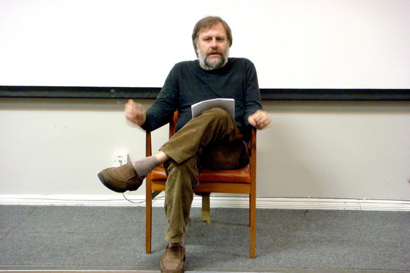Slavoj Zizek's historical moment and his strange communism